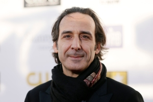 "Composer Desplat, from the film ""Argo,"" arrives at the 2013 Critic's Choice Awards in Santa Monica"